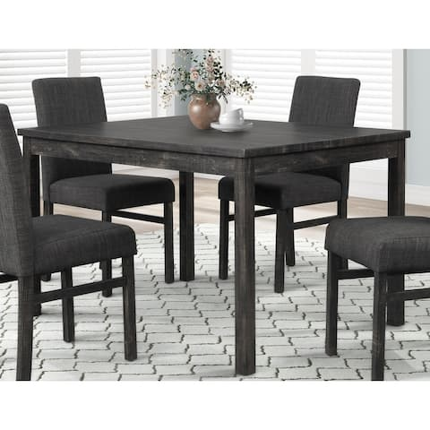 Best Master Furniture 48 Inches Length Rustic Rectangular Dining Table
