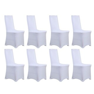 Universal Stretch Dining Chair Cover 8 Piece Set