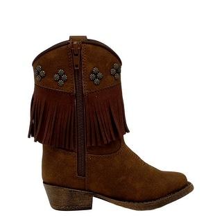 Blazin Roxx Western Boots Girls Kids Annabelle Infant Brown 4416802