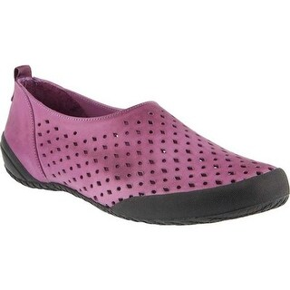 Spring Step Women's Hena Loafer Purple Leather