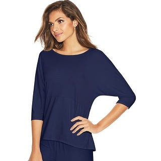 Maidenform Dolman Sleeve Lounge Top - Color - Maritime Blue - Size - XL