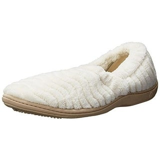 Acorn Womens Plush Spa Support Slip-On Slippers