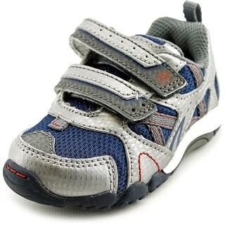 Stride Rite Fernando W Round Toe Leather Sneakers