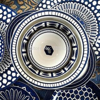 Luxury Design Royal Jingdezhen Bone China Dinnerware Set 56 piece