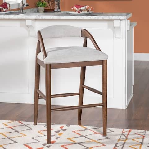 Tierney 31.25-inch Barstool Dove Grey