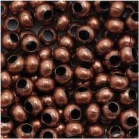 Genuine Metal Seed Beads 6/0 Antiqued Copper 30 Grams