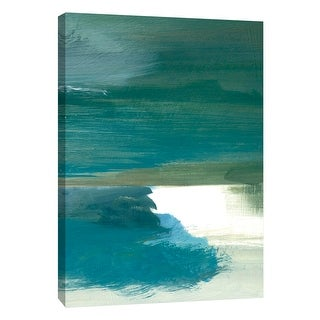 """PTM Images 9-109064  PTM Canvas Collection 10"""" x 8"""" - """"Coastal Seascapes C"""" Giclee Beaches Art Print on Canvas"""