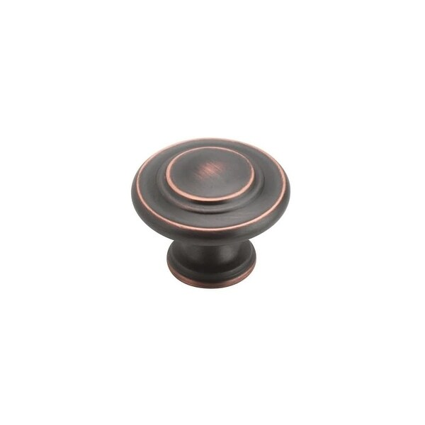 Amerock TEN1586 Inspirations 1-5/16 Inch Diameter Mushroom Cabinet Knob - Package of 10