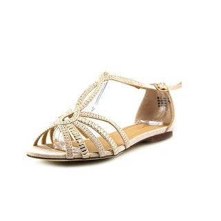 Report Luciana Women Open Toe Synthetic Nude Sandals