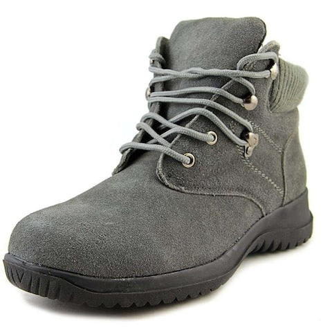 Wanderlust Womens Boston Leather Closed Toe Ankle Fashion Boots