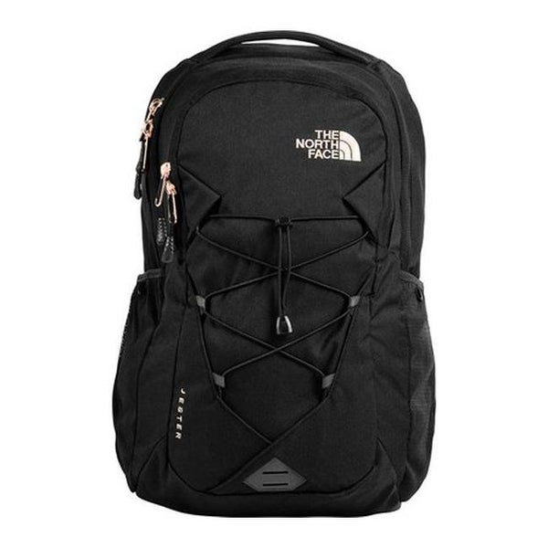 f2bcfa61 The North Face Women's Jester Backpack TNF Black Heather/Burnt Coral