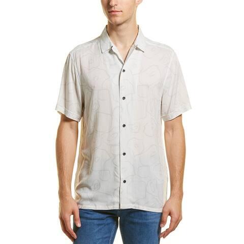 Vestige Big Cat Camp Woven Shirt - LGRY