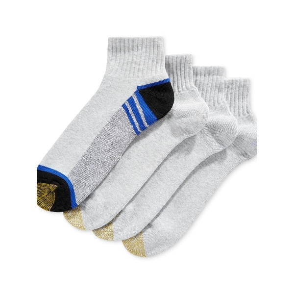 Gold Toe Mens Athletic Socks Breathable Reinforced Toe