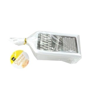 Link to 3-Way Cheese Grater with Snap-On Container - Coarse, Fine and Plane Slicer Similar Items in Cooking Essentials