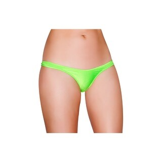 Spandex Bikini Bottom, Thong Bikini Bottom - One Size Fits most