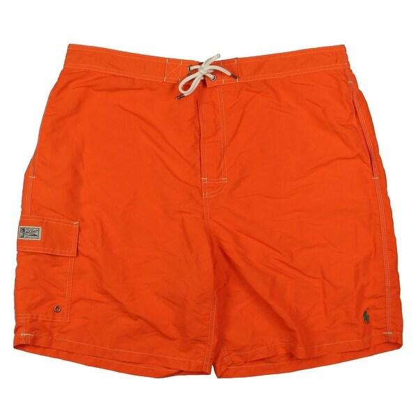 Polo Ralph Lauren Mens Drawstring Pocket Swim Trunks