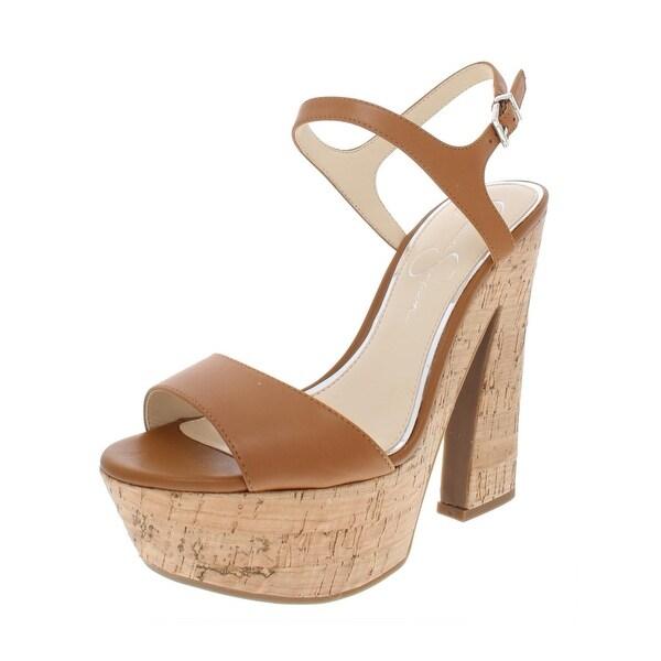 c13d39c9b1e Shop Jessica Simpson Womens Divella Platform Sandals Leather High ...