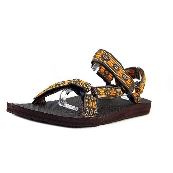 bc6feb826fb Shop Teva Original Universal Men Monterey Brown Sandals - Free ...