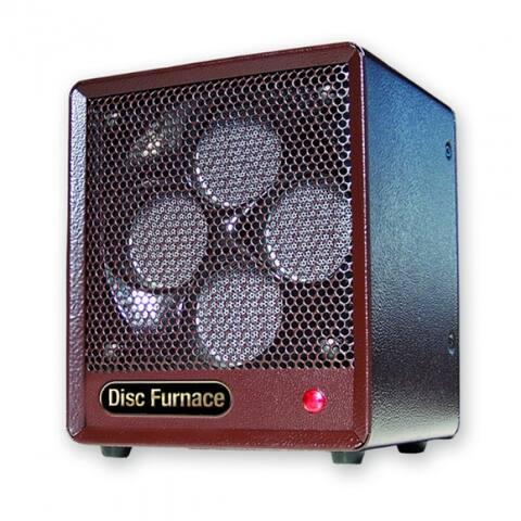 Comfort Glow B-DISC-6 Original Brown Box Ceramic Disc Heater, 1500 Watt, 5200 BTU