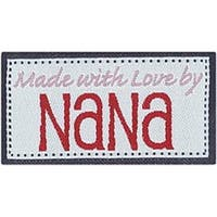 Made With Love By Nana - Iron-On Lovelabels 4/Pkg