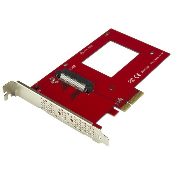 "Startech Pex4sff8639 U.2 To Pcie Adapter X4 Pcie For 2.5"" U.2 Nvme Ssd"