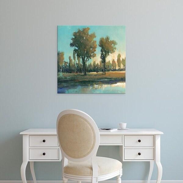 Easy Art Prints Tim OToole's 'Early Morning Spring' Premium Canvas Art