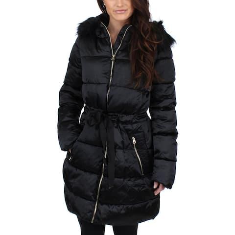 Jessica Simpson Womens Puffer Coat Winter Water Resistant