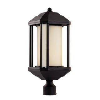Trans Globe Lighting 40256 Downtown Trolley 1 Light Outdoor Post Light