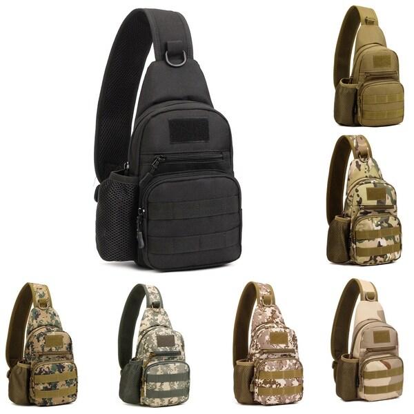 c183cce84418 Military Tactical Travel Sport Gym Men Shoulder Sling Backpack Chest Bag  Gift