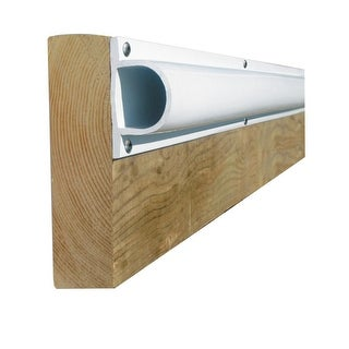 "Dock Edge PRODOCK Heavy ""D"" Dock Profile-(3) 8' Sections-White - 1205-F"