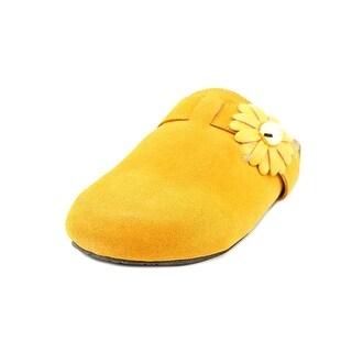 Isaac Mizrahi Andreya Open Toe Canvas Slides Sandal