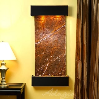 Cascade Springs Fountain - Blackened Copper - Squared Edges - Choose Options