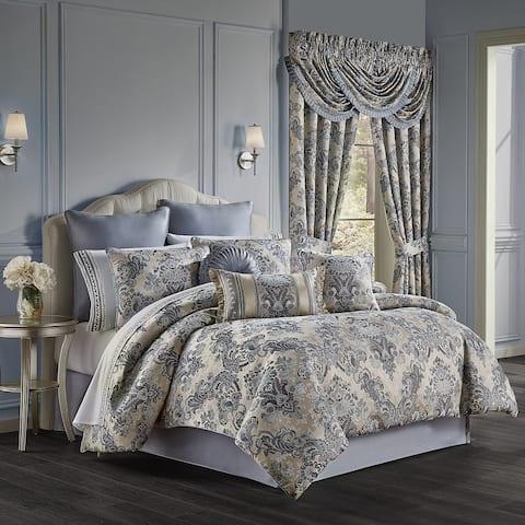 Five Queens Court Geraldine Luxury Comforter Set