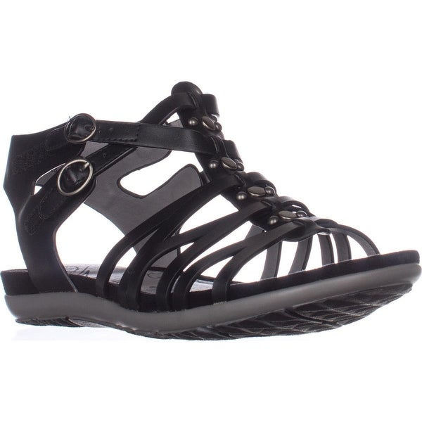BareTraps Robbie Gladiator Sandals, Black