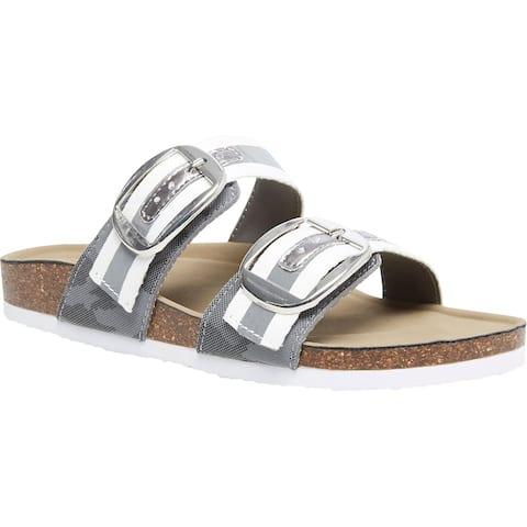 Madden Girl Womens Bambamm Footbed Sandals Comfort