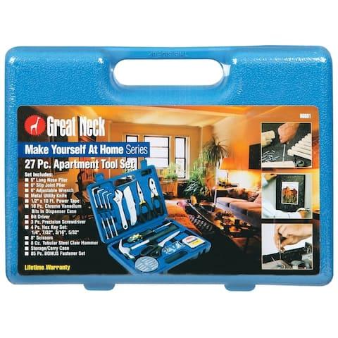 Great Neck Saw 96601 Apartment Tool Set, 27 Pieces