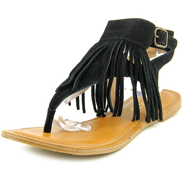 Restricted Kill It Women Open Toe Suede Thong Sandal
