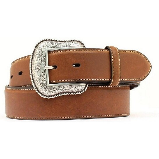 Nocona Western Belt Mens Smooth Leather Arrow Rich Earth