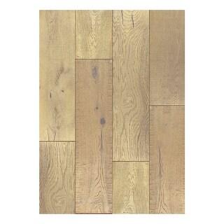 "Shasta - 7-1/2"" Engineered Hardwood Flooring - Handscraped White Oak Wood - Sold by Carton (36 SF/Carton) - N/A"