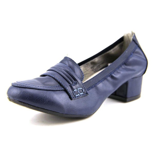 Rialto Courtney Women Round Toe Synthetic Blue Loafer