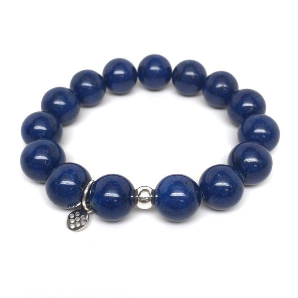 "Blue Jade Brook 7"" Bracelet"