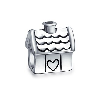 Bling Jewelry Dutch Windmill Tower Travel Themed Bead Charm .925 Sterling Silver AWUVq