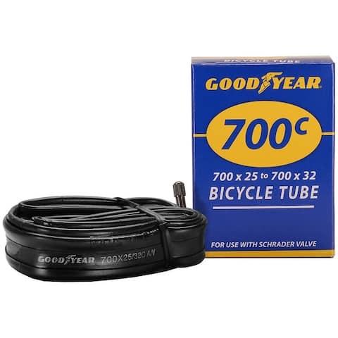 Goodyear 91082 Bicycle Tube, Black