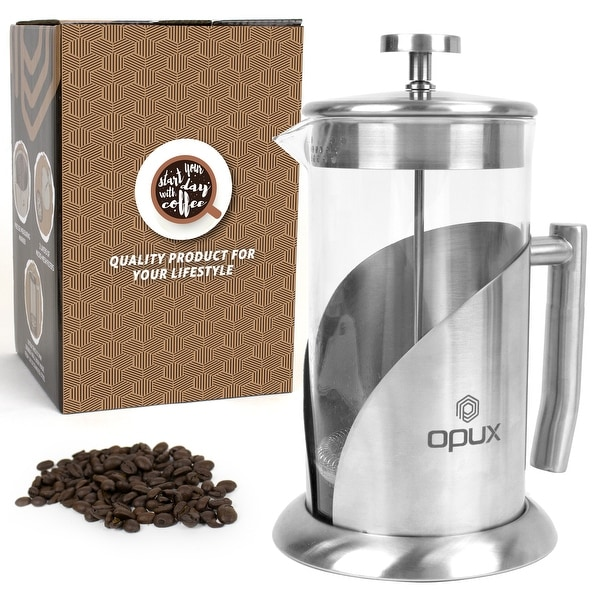 OPUX Insulated French Press Coffee Maker