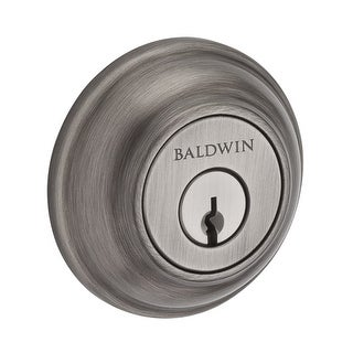 Baldwin DC.TRD Traditional Round Double Cylinder Keyed Entry Deadbolt