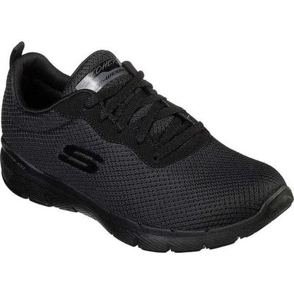 ef72edb1712 Skechers Women s Flex Appeal 3.0 First Insight Sneaker Black Black ...