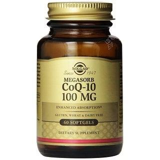 Solgar Megasorb CoQ-10 100 Mg (60 Softgels)