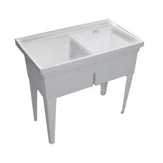 Proflo PFLT4024W Double Basin Wall Mounted Laundry Sink