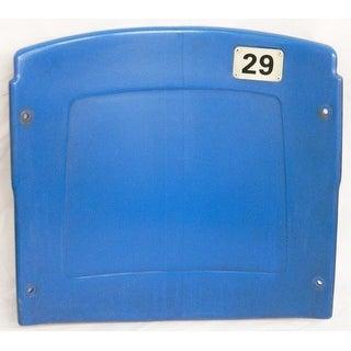 Silverdome Blue Actual Stadium Seat Back  Home Of Detroit Lions  Pistons