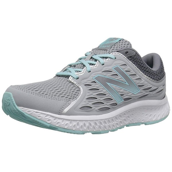 fa5035179ec9 Shop New Balance Women's W420v3 Running Shoe, Silver Mink/Gunmetal/Ozone  Blue Glow, 7 D Us - Free Shipping On Orders Over $45 - Overstock - 25639971